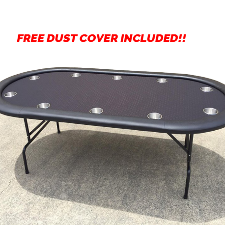 poker table oval $249.95